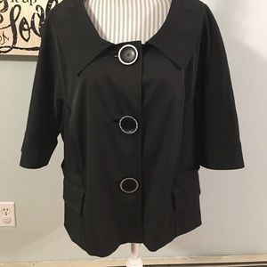 NWOT Nygard Collection Women's Sz 20 Blazer Jacket